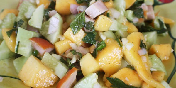 Mango Salad with Smoked Turkey