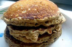 Whole Wheat-Oat Pancakes