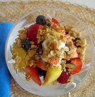 Winter Breakfast Fruit Crunch